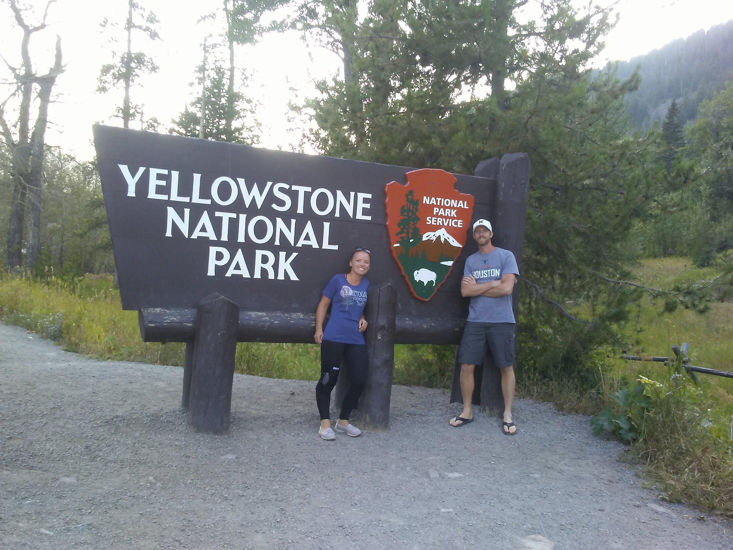Rv hookup yellowstone national park