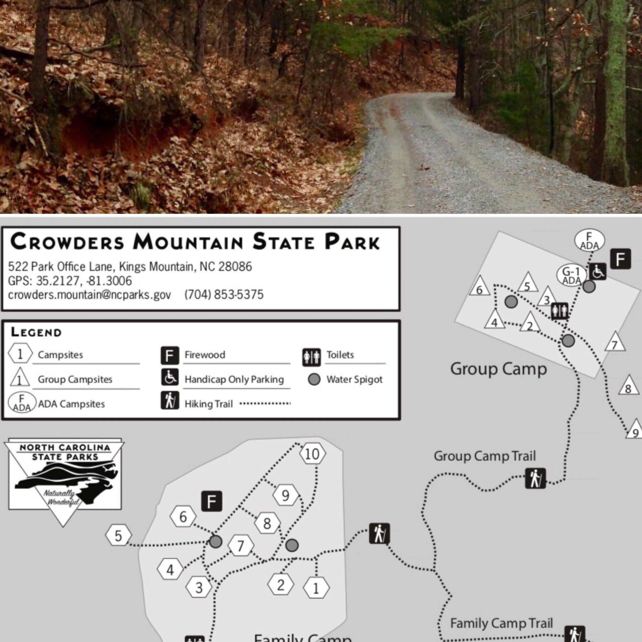 Kings Mountain State Park, SC | The Dyrt on garner state park map, salisbury state park map, hillsborough state park map, indian trail state park map, henderson state park map, high point state park map,