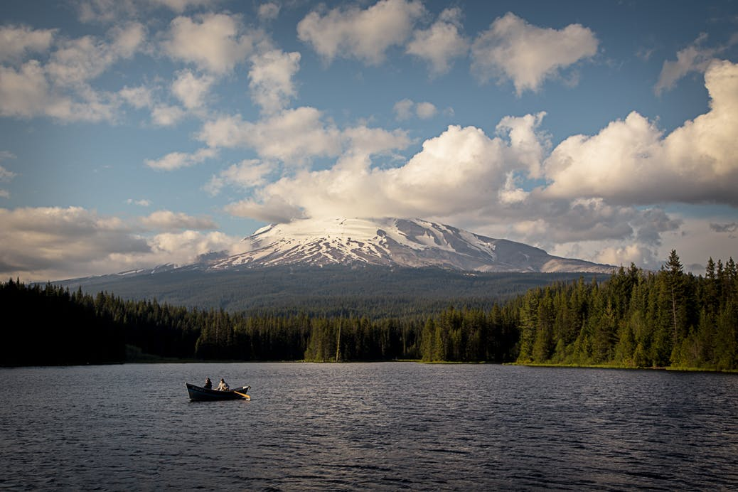 scenic byway lanscape at mt hood