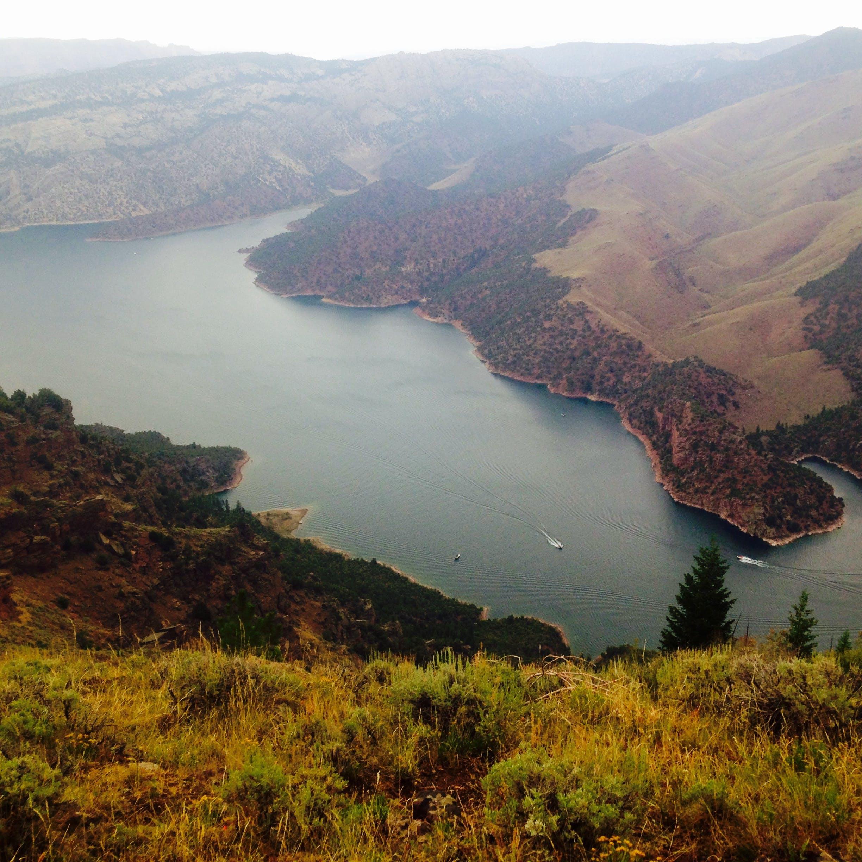 Flaming Gorge Reservoir (Flaming Gorge NRA) - Natural Atlas