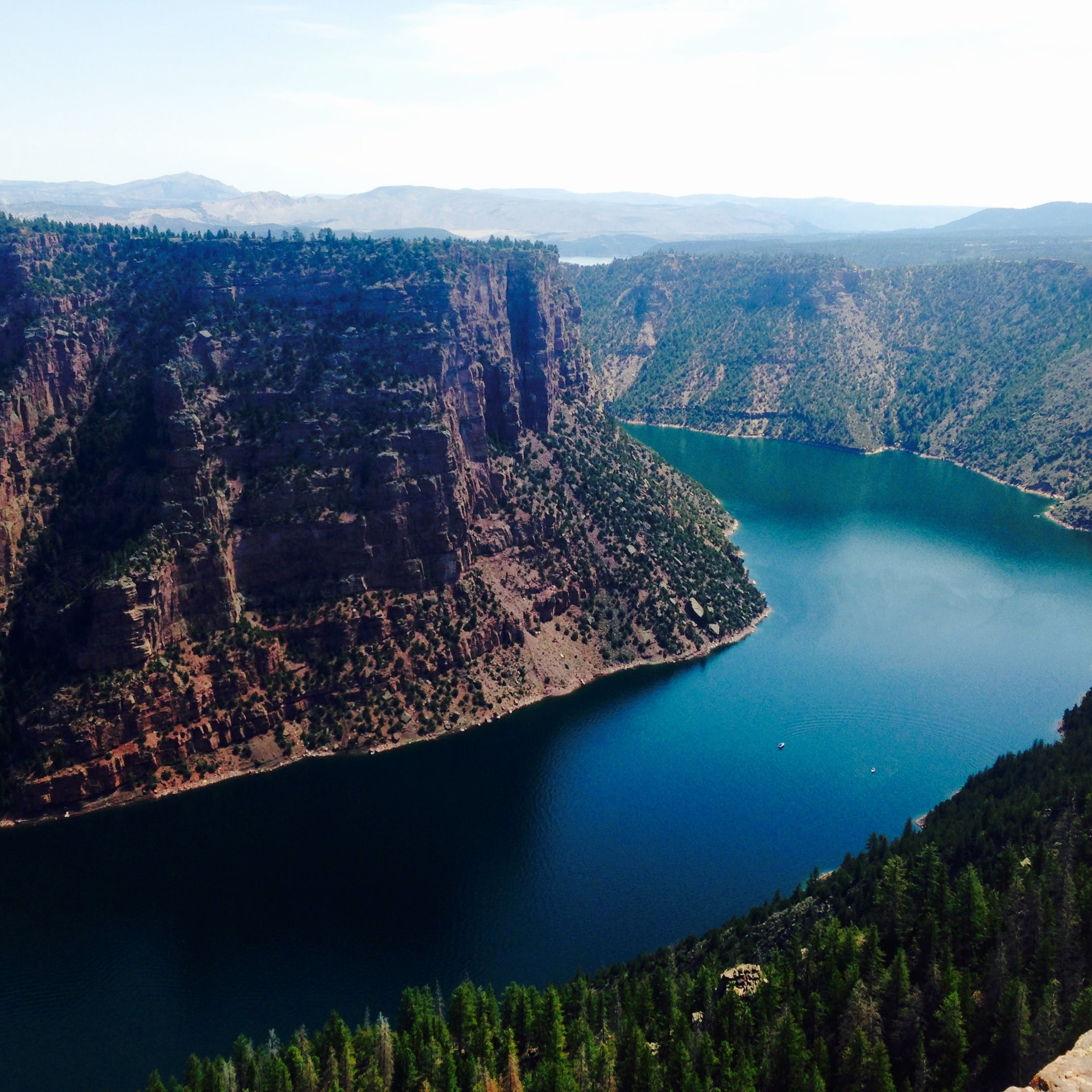 Boating Information for Flaming Gorge NRA, Wyoming