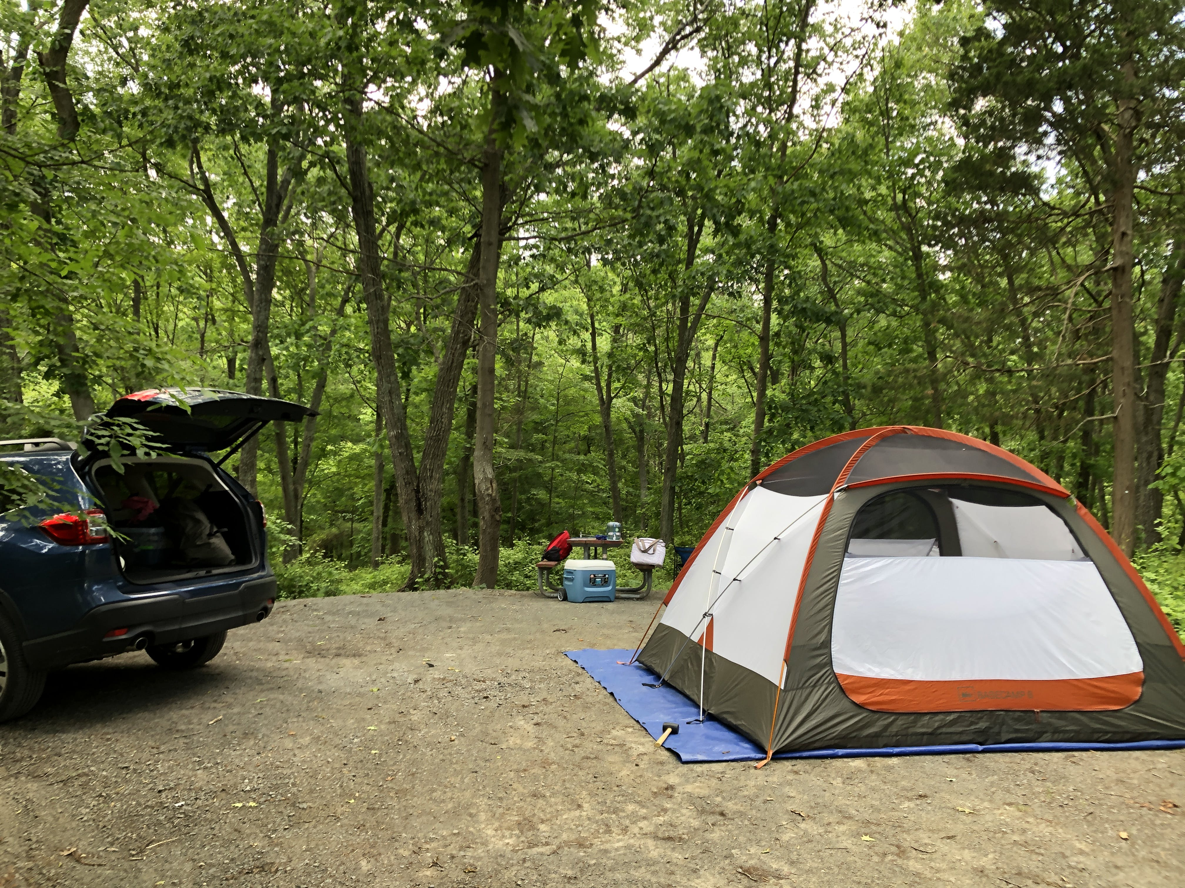 Lake Fairfax Park Campground