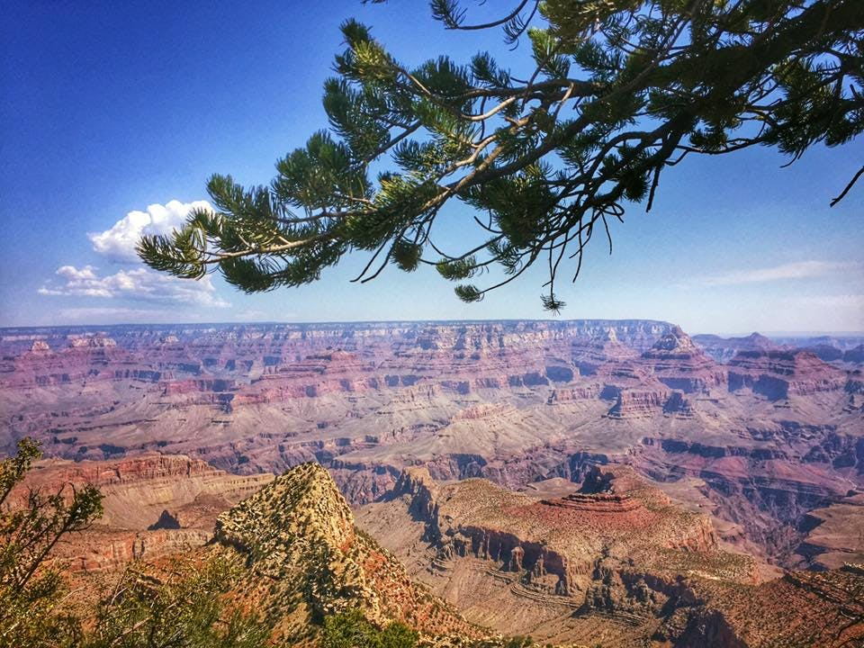 panoramic views from grand canyon campgrounds