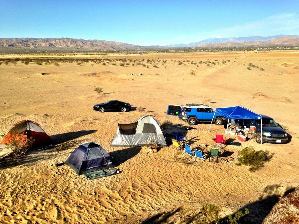 Joshua Tree Lake Dispersed Camping Ca The Dyrt