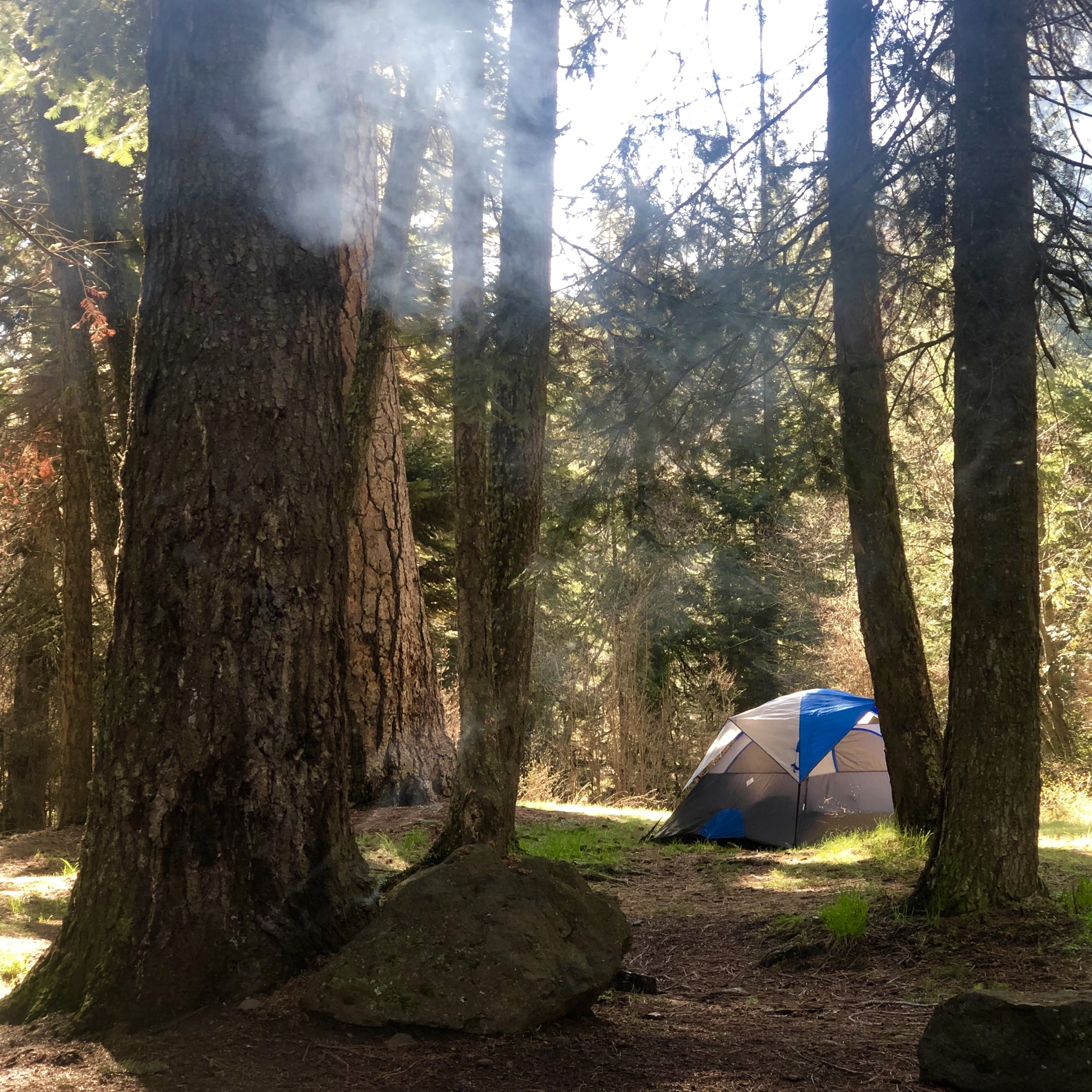 first come first serve camping near me