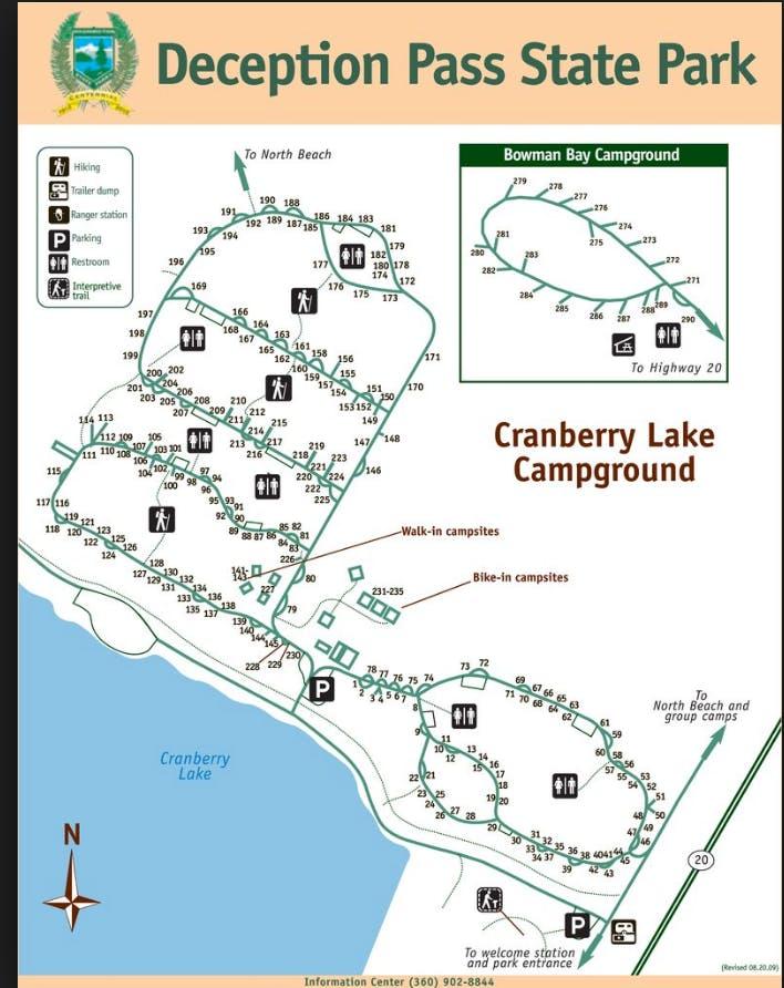 Camping Washington State Map.The Dyrt