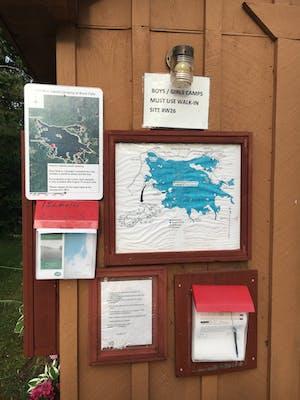 Bond Falls Michigan Map.Photo Of Bond Falls Flowage By Bruce B