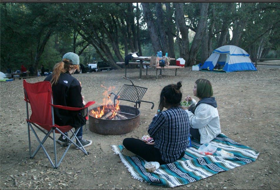 Full orgie camping i San Diego