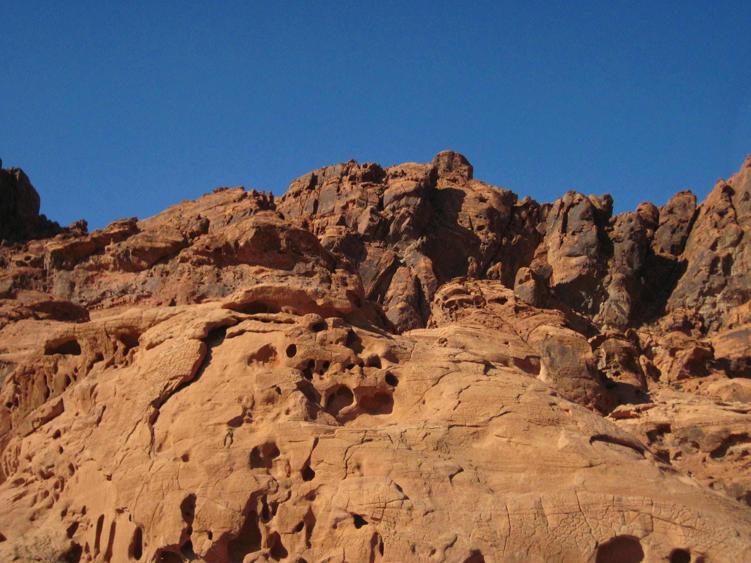 Atlatl Rock Campgrounds Valley Of Fire State Park Nv