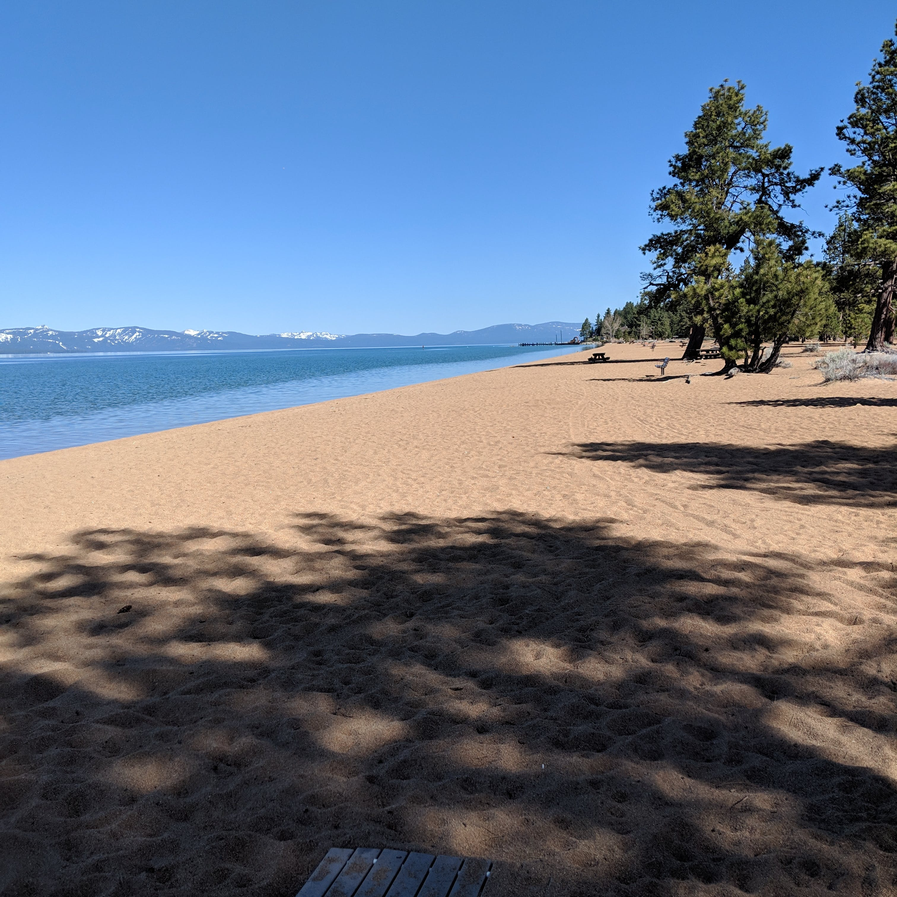 Photo Of Nevada Beach Campground And Day Use Pavilion By Aaron F