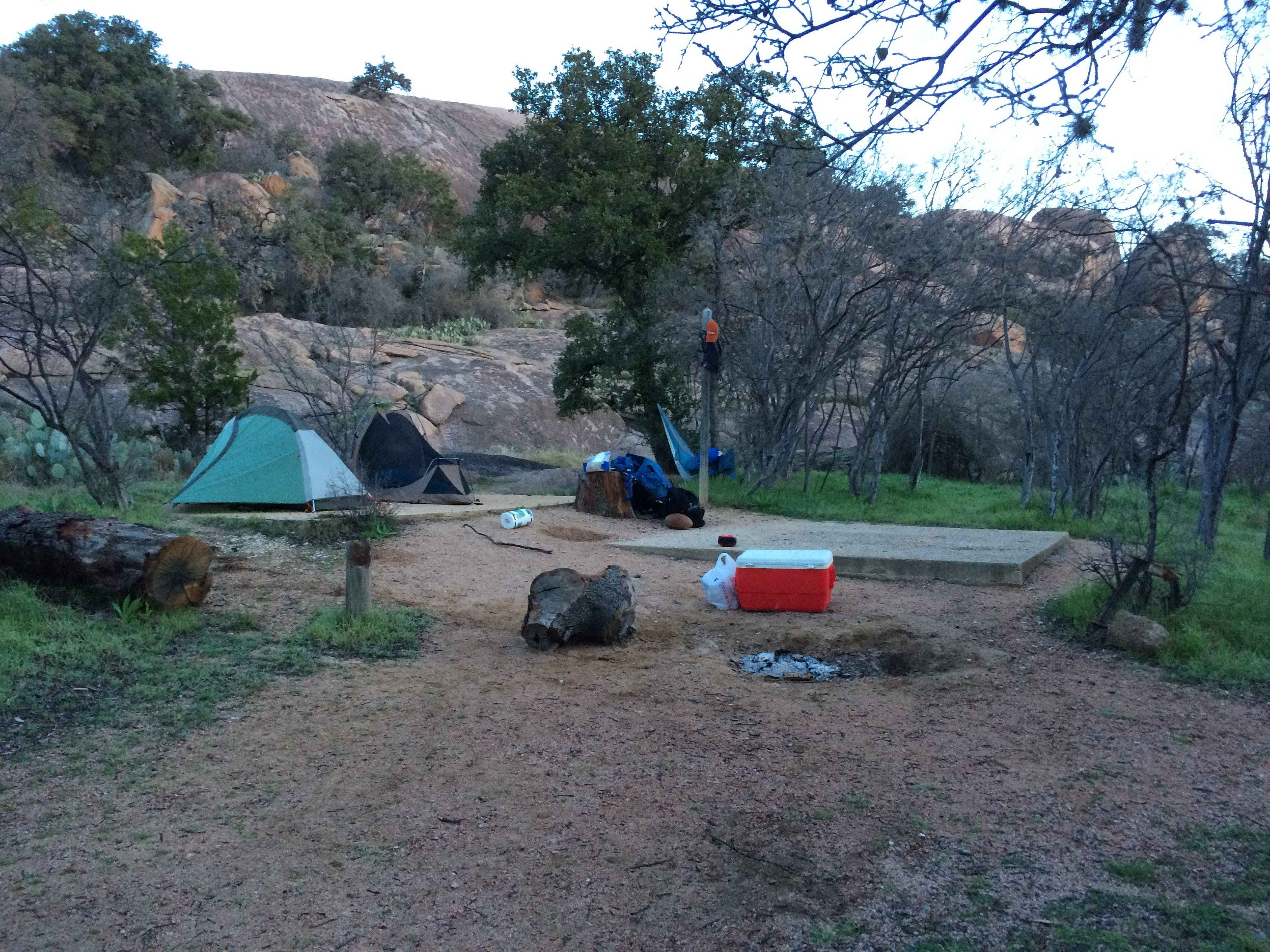Image result for Enchanted Rock camping
