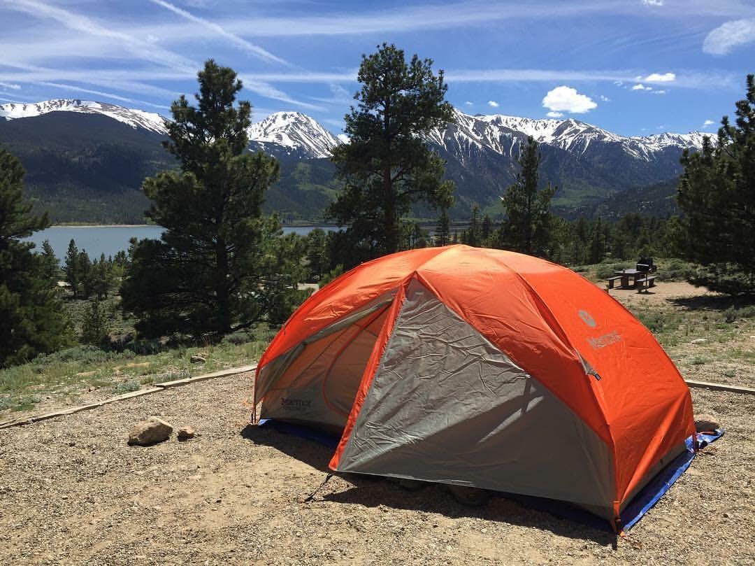 scenic camping in colorado near aspen groves