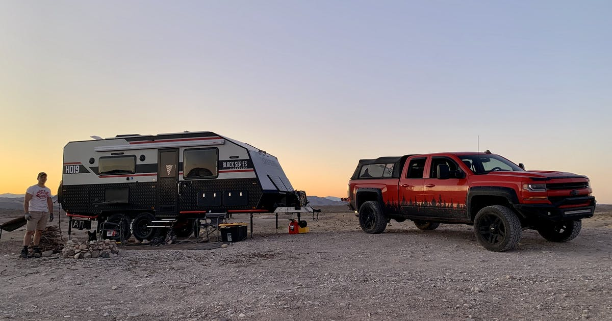 Government Wash Boondocking - Lake Mead National Rec Area, NV