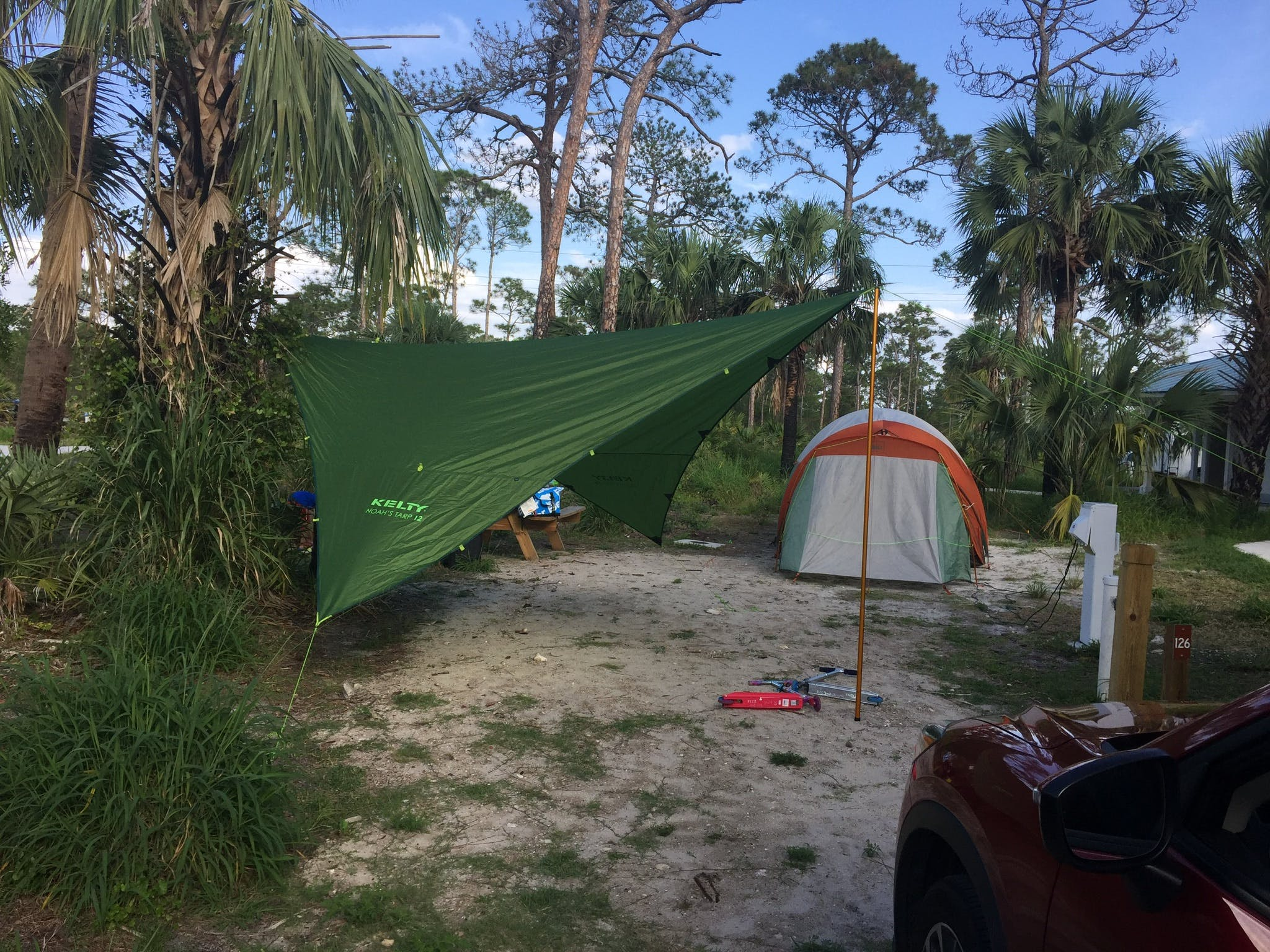 state park campgrounds in florida