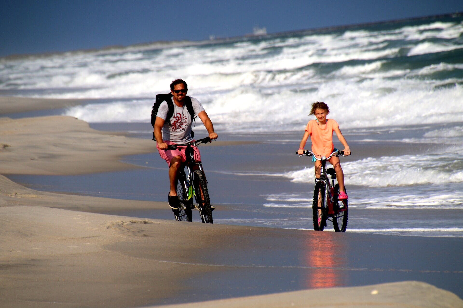 myrtle beach camping and biking at Huntington Beach State Park