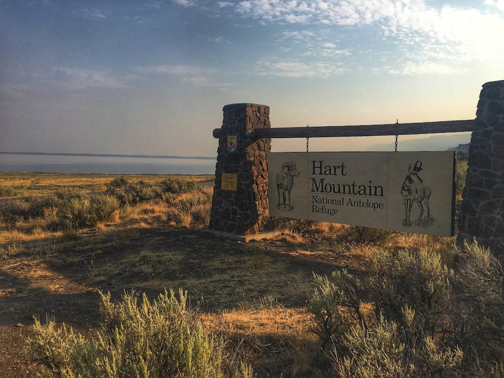 scenic byway at hart mountain