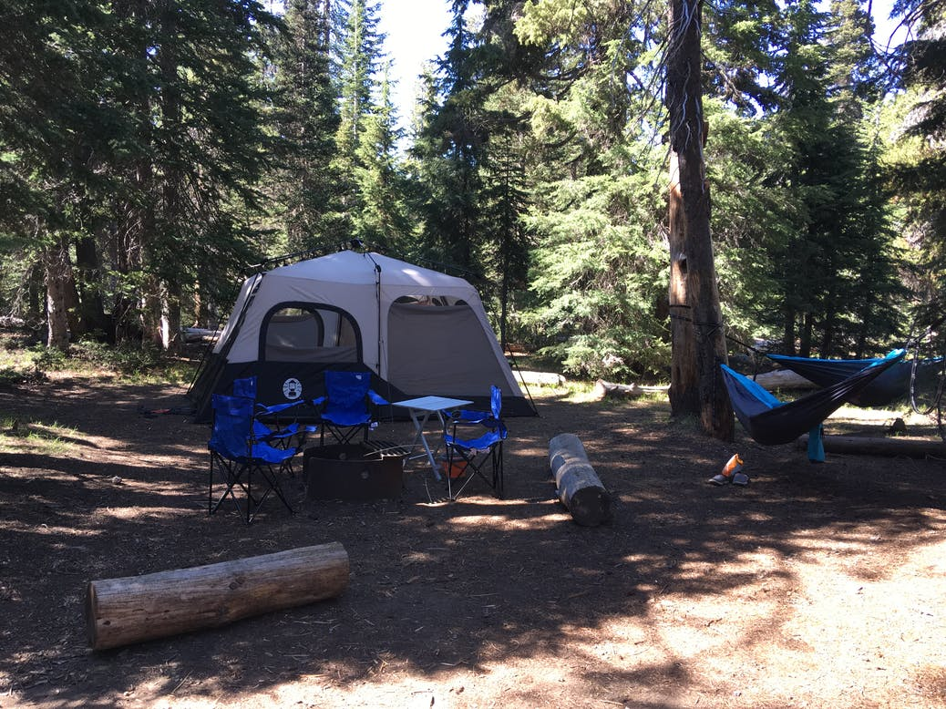 camping along oregons scenic byways