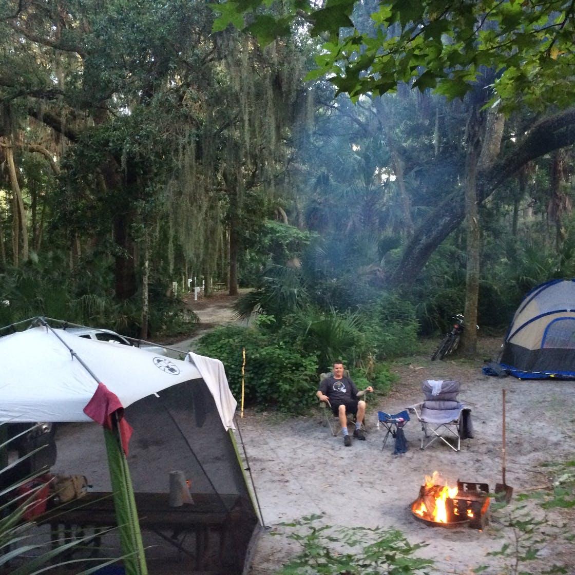 anastasia state park campgrounds in florida