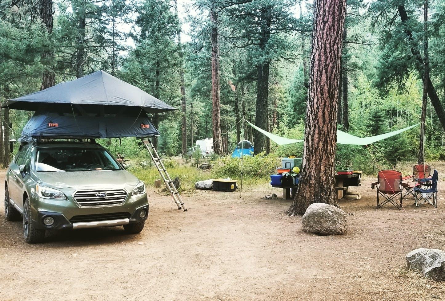 aspen groves at vallecito campground