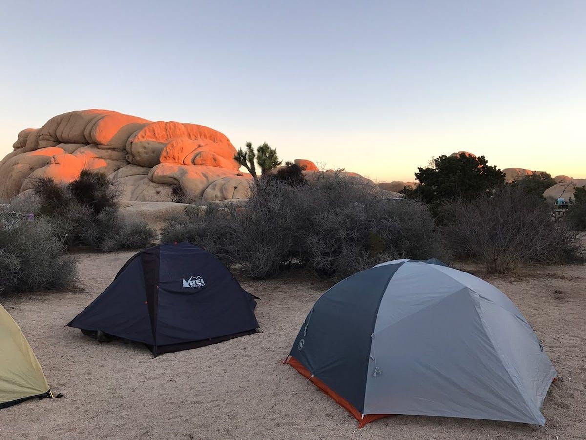 jumbo rocks campground in california