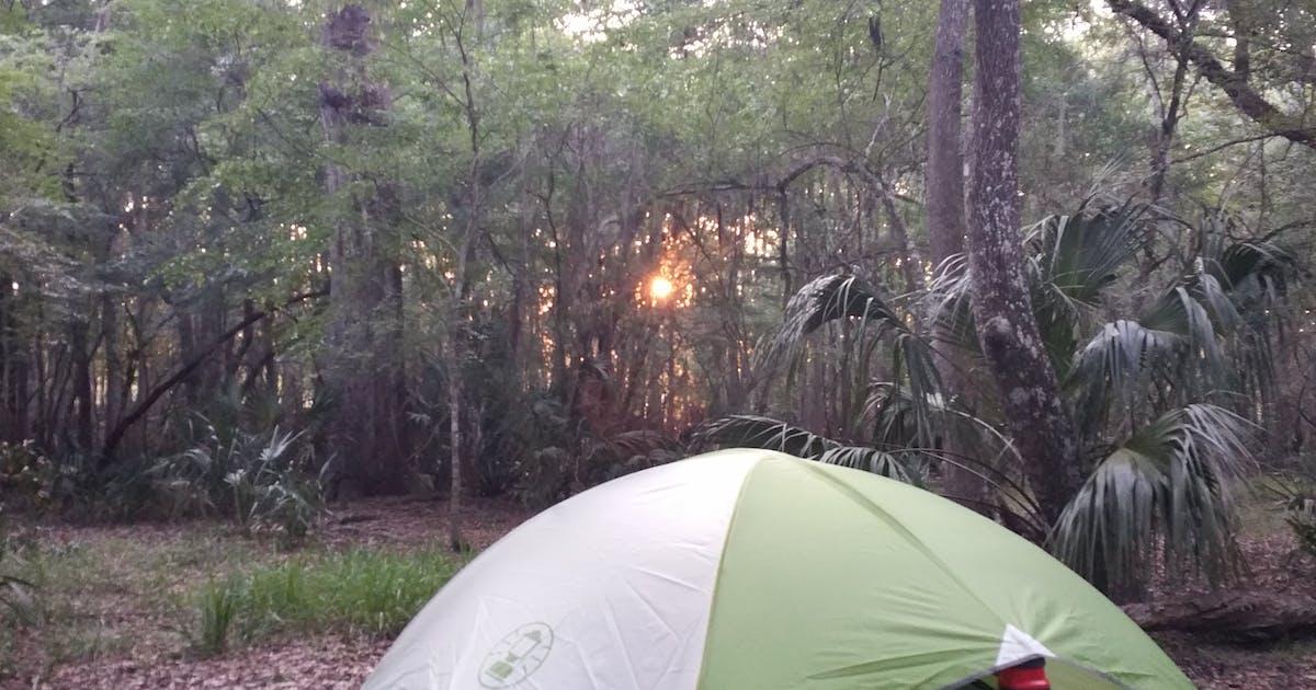 full hookup camping florida